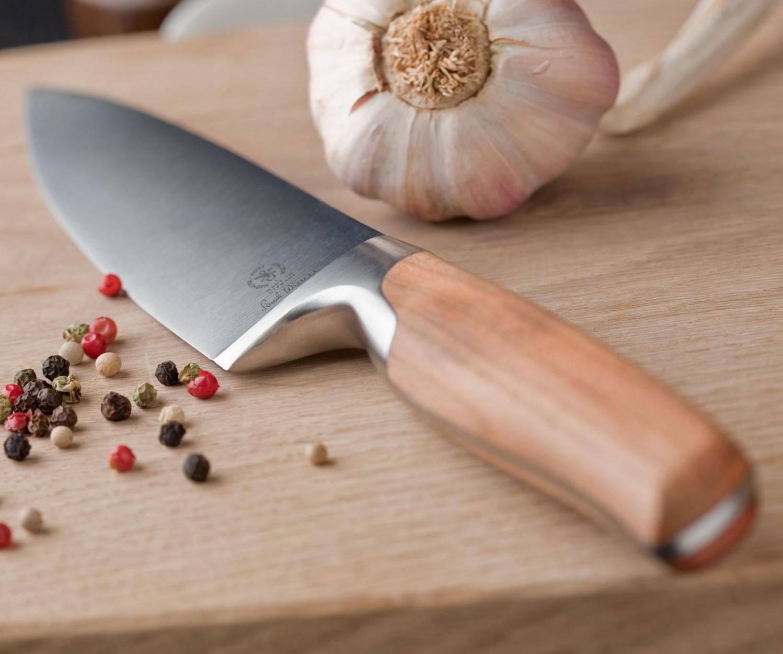 Sarah Wiener Brotmesser 22 cm, Walnuss – Bild 6