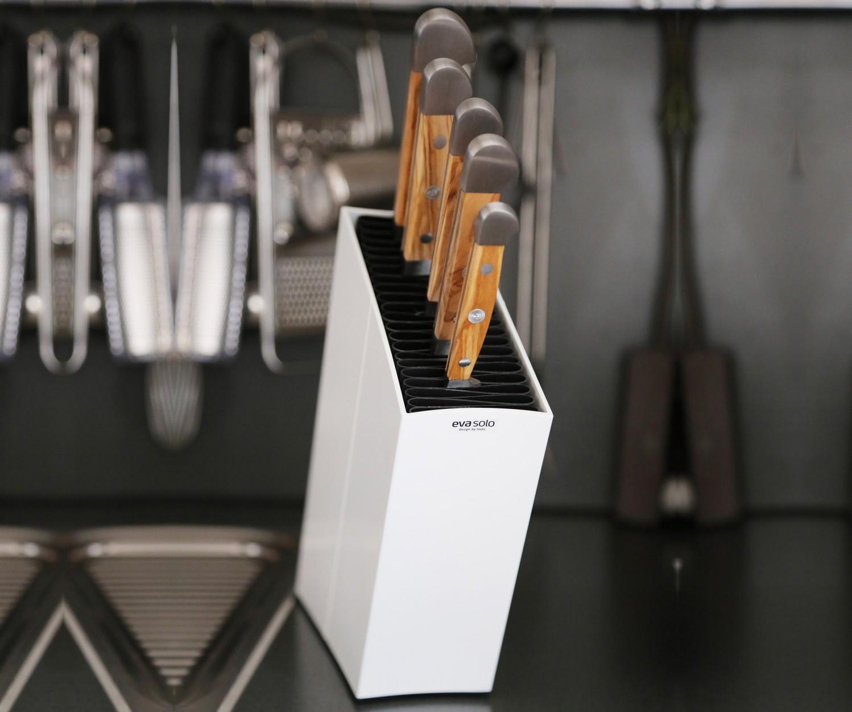 Güde Messerset 5-tlg, Olive, EVA SOLO Block weiß – Bild 5