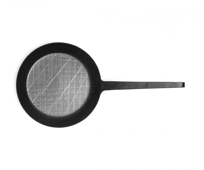 Helmensdorfer Pfanne 23 cm, Geschmiedet – Bild 2