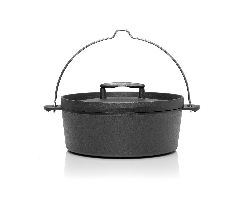 Skeppshult Gusseisen Feuertopf Fältugn Dutch Oven – Bild 1
