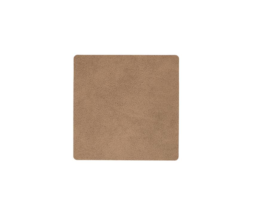Lind Dna Glasuntersetzer Square, Nupo Brown – Bild 1