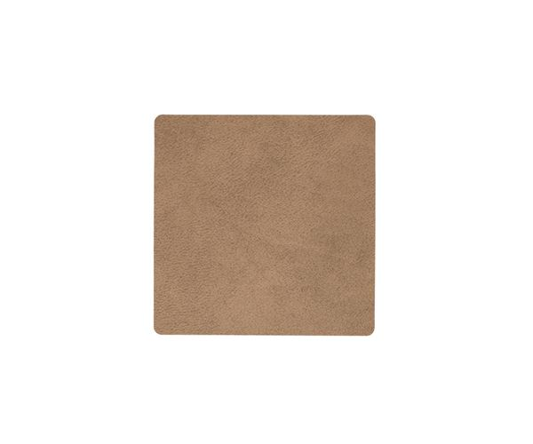 Bild von Lind Dna Glasuntersetzer Square, Nupo Brown