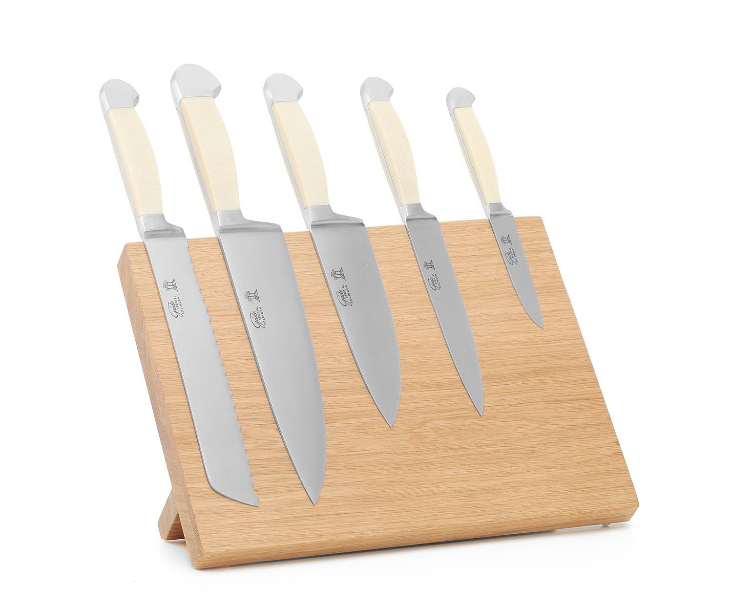 Güde White Micarta Messerset 6-tlg – Bild 1