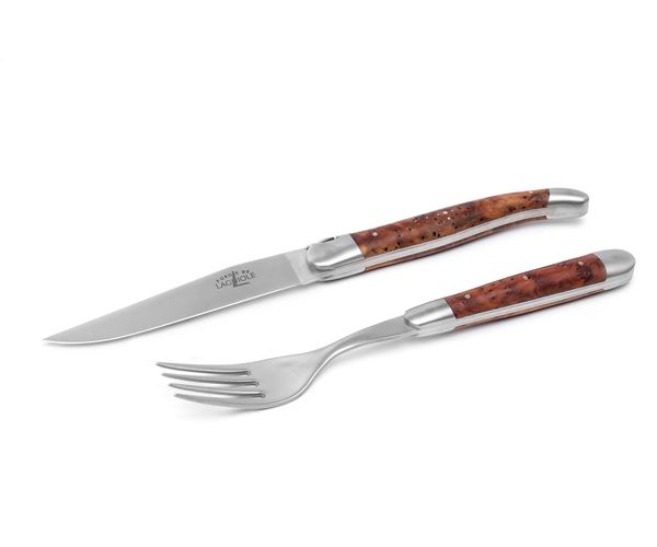 Bild von Forge de Laguiole Steak-Set 2-tlg, Thuja