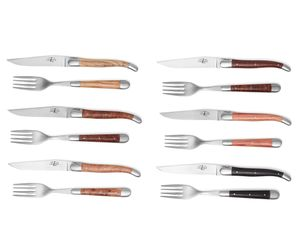 Forge de Laguiole Steak-Set 12-tlg, Mix 001
