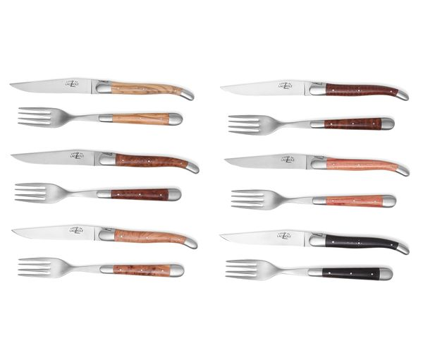 Bild von Forge de Laguiole Steak-Set 12-tlg, Mix