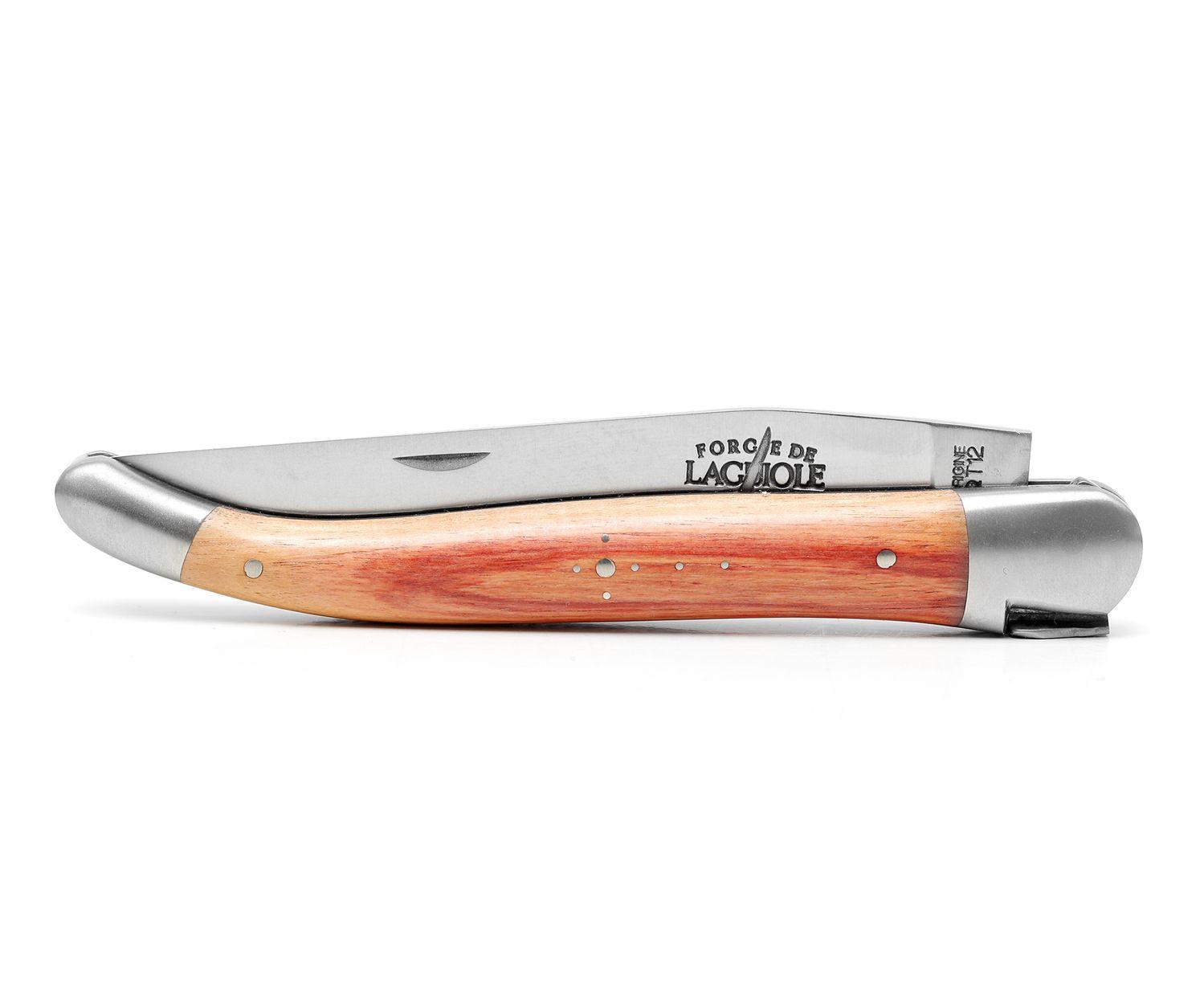 Forge de Laguiole Taschenmesser 12 cm, Rosenholz – Bild 2