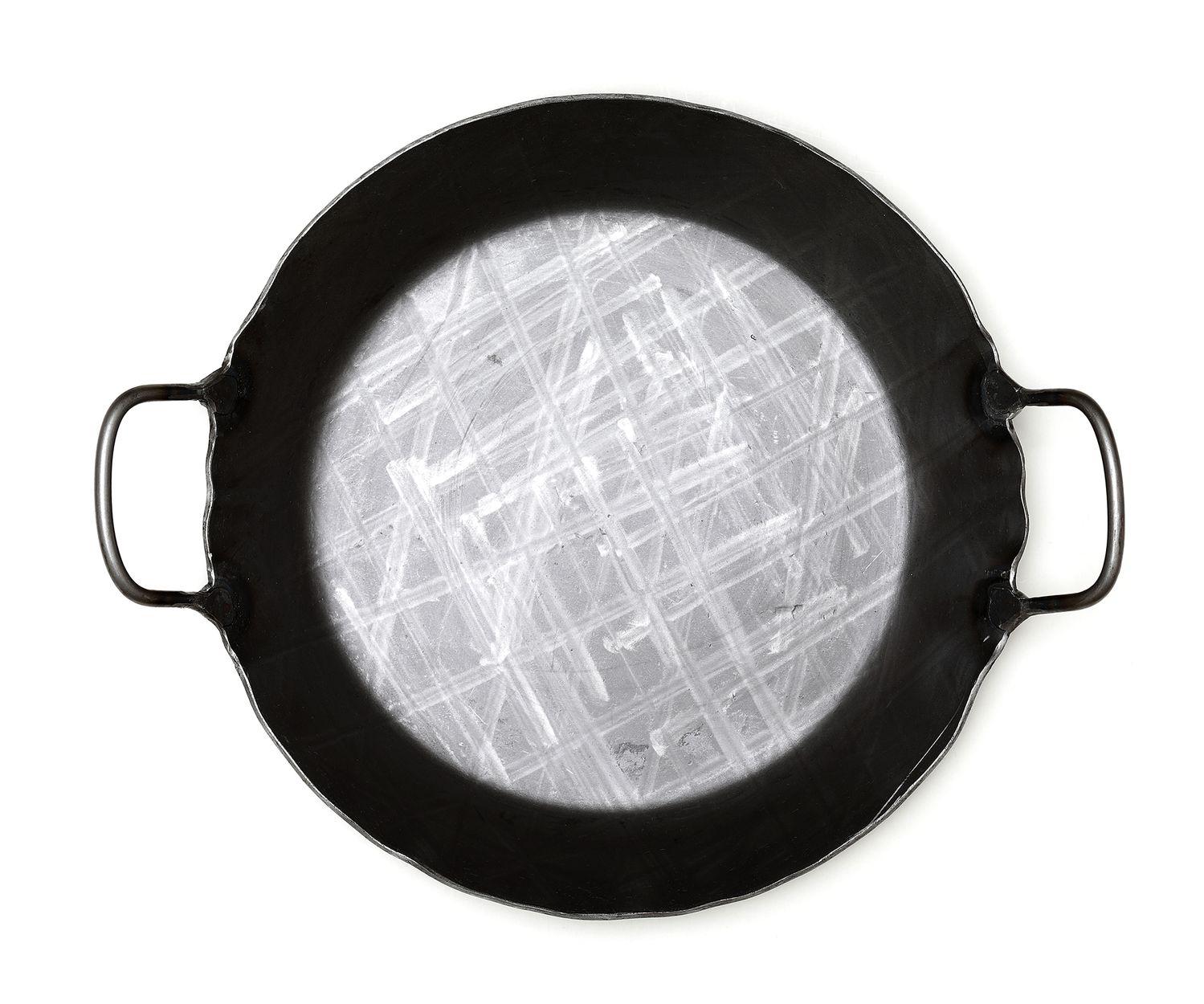 Franz Scholl Bratpfanne geschmiedet 28 cm, 2 Griffe – Bild 2
