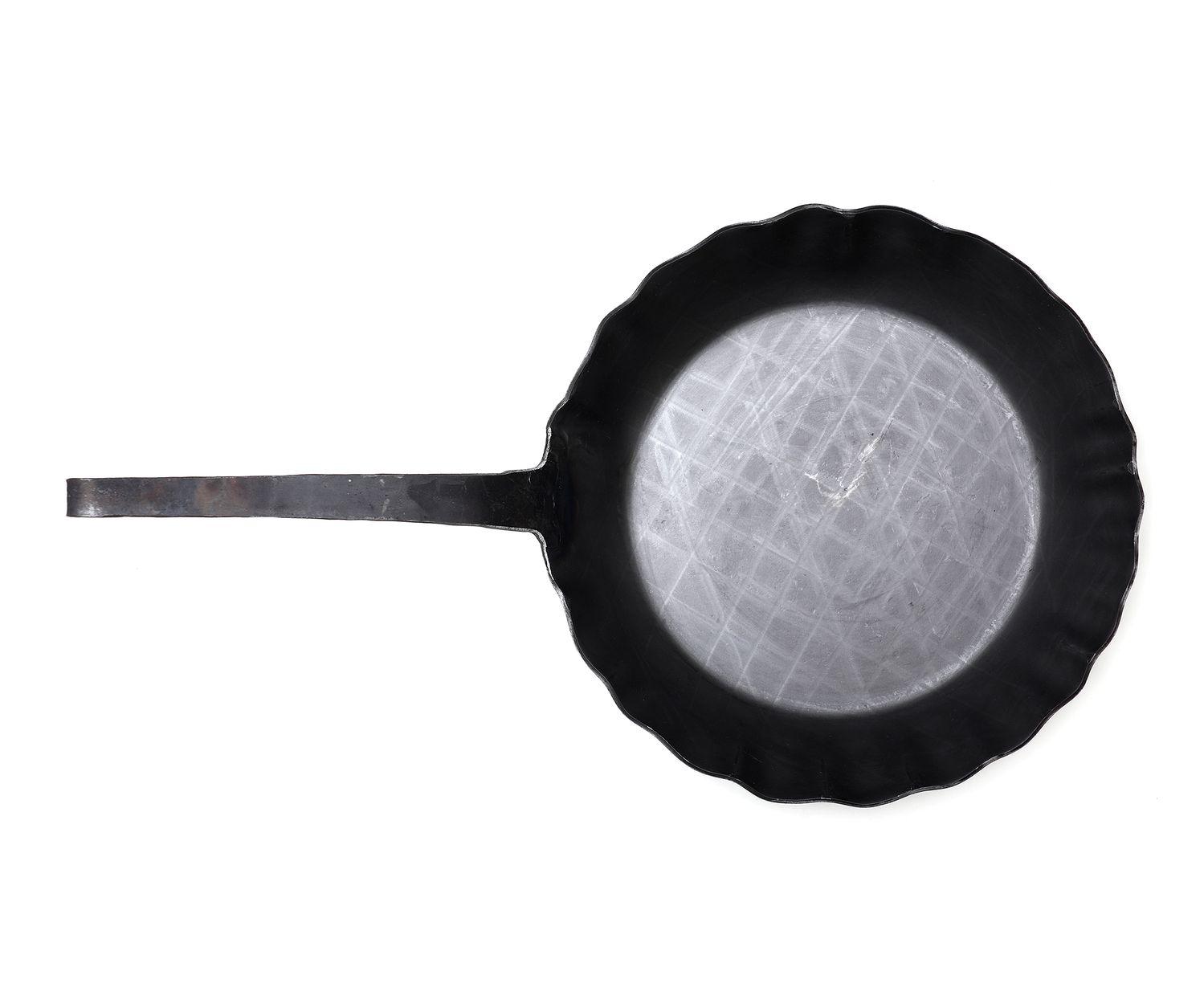 Franz Scholl Bratpfanne geschmiedet 30 cm – Bild 2