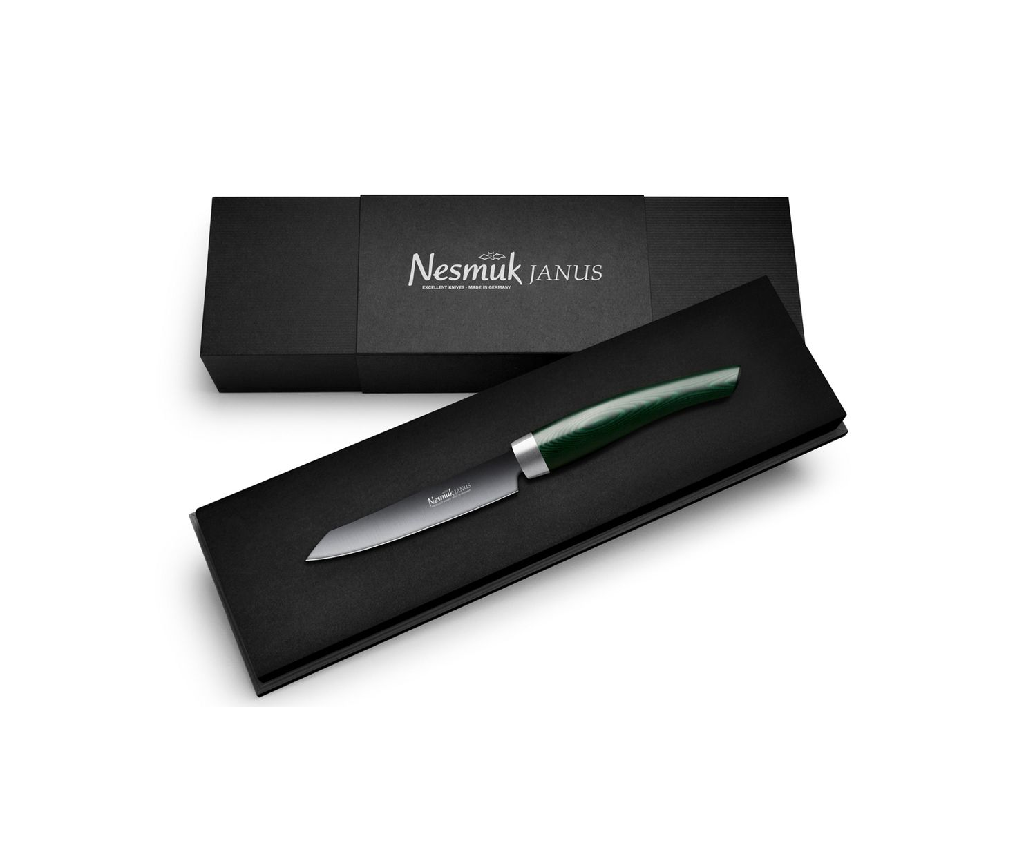 Nesmuk Office Micarta Green, Janus – Bild 2
