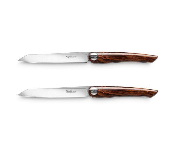 Bild von Nesmuk Steakmesser Wüsteneisenholz, 2 Stk, Soul