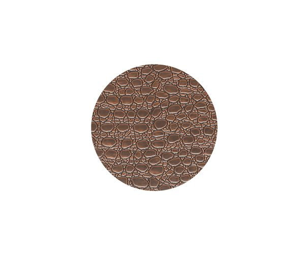 Bild von Lind Dna Glasuntersetzer Circle, Lace Brown