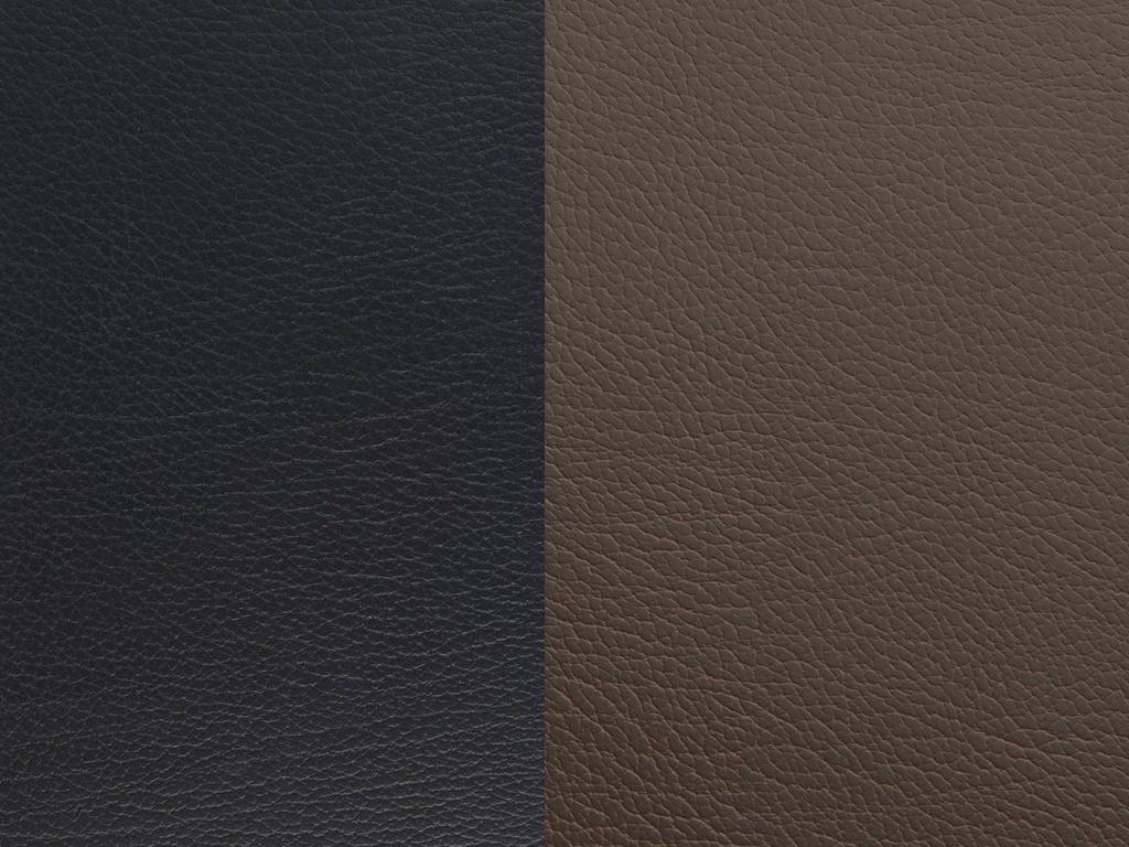 Lind Dna Glasuntersetzer Circle, Double Bull Black / Brown – Bild 1