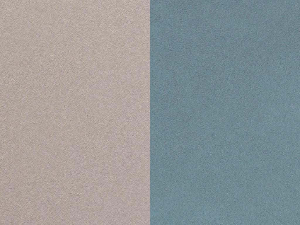 Lind Dna Glasuntersetzer Circle, Double Nupo Light Blue / Light Grey – Bild 1