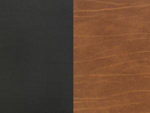 Lind Dna Glasuntersetzer Curve, Double Buffalo Black / Nature 001