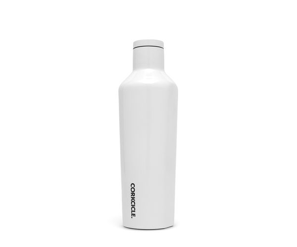 Bild von Corkcicle Isolierflasche Dipped Modernist White 0.475l
