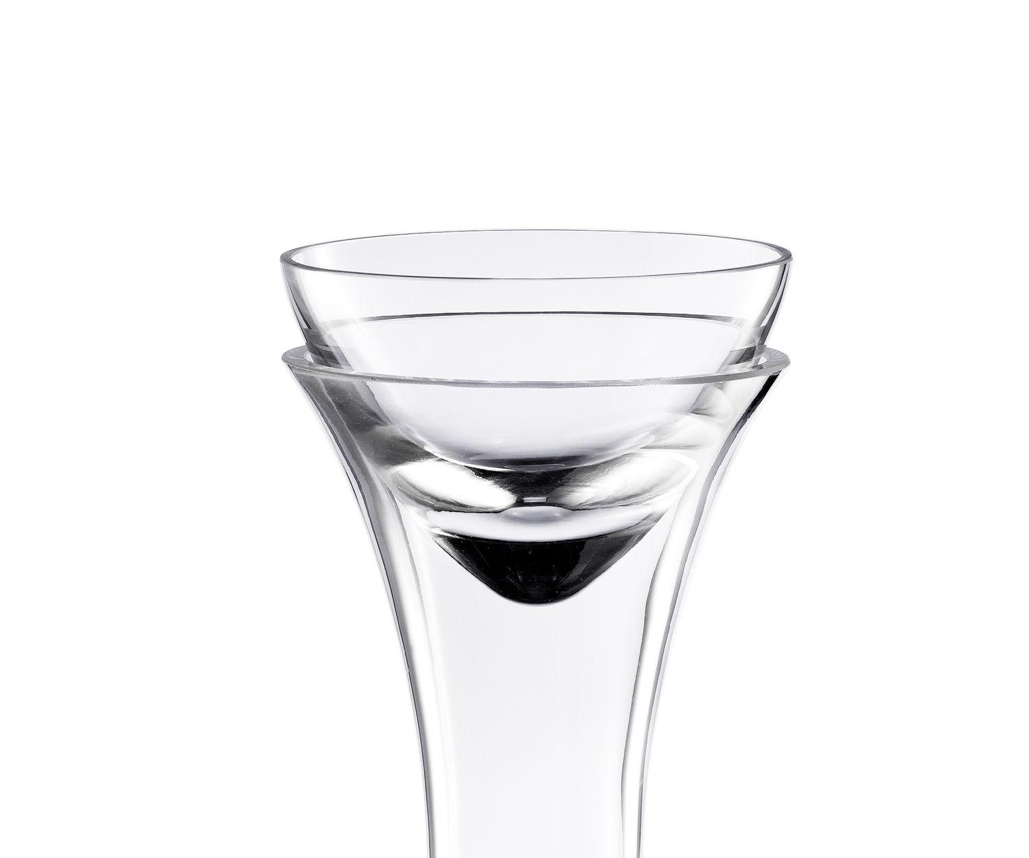 Eisch Glas Dekanter-Top