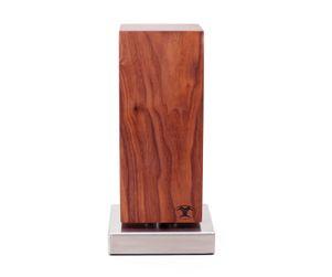 Blockwerk Messerblock Monolith, Nussbaum 001